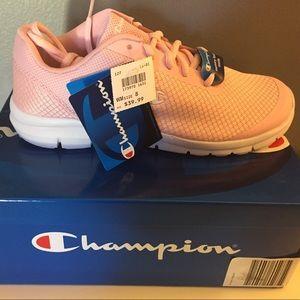 pink champion slides payless